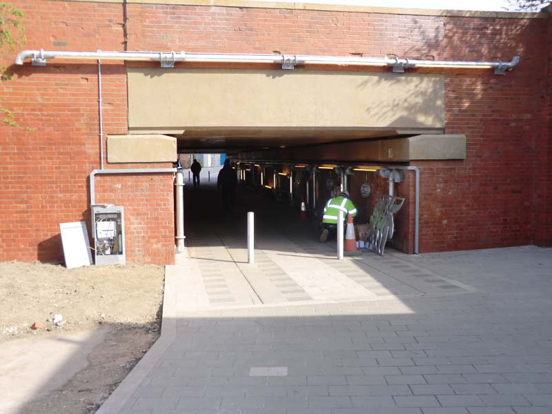 New Cross subway