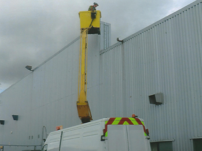 Meter hub for Clacton depot